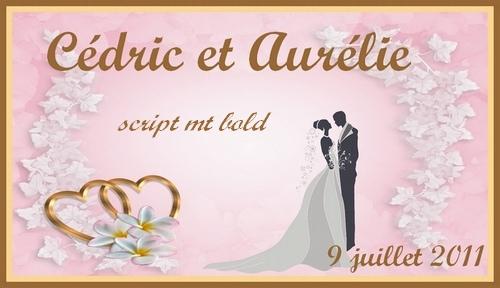 etiquette alliances lavande mariage