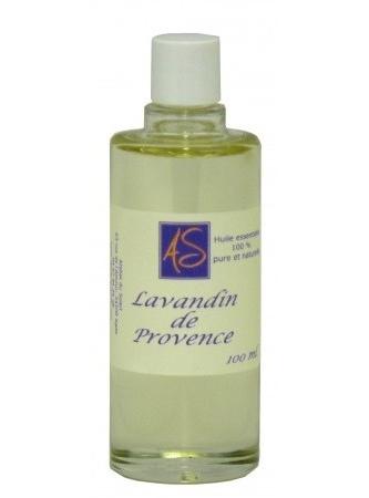 flacon de 100 ml d'huile essentielle de lavandin